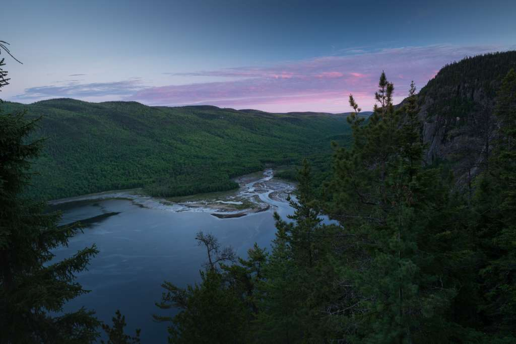 View of the Saguenay fjord - Photo credit: Catherine Simard