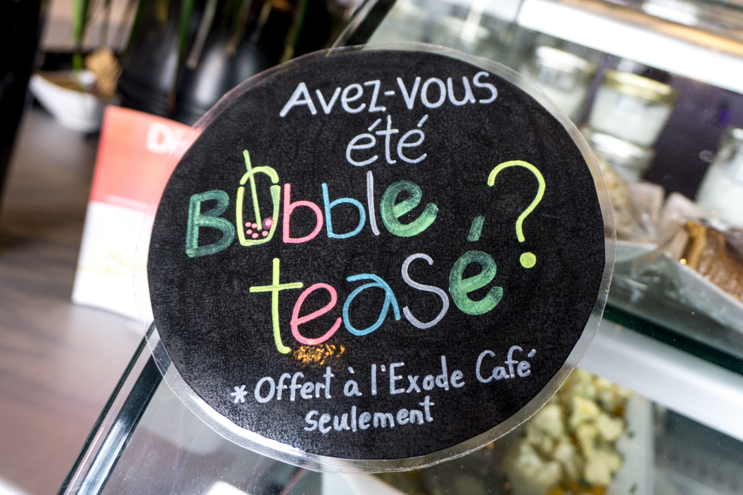 Exode Cafe - Jennifer Dore Dallas - bubble tea