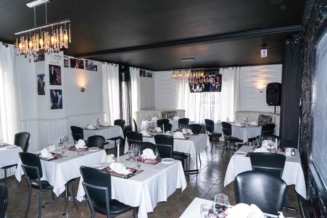Auberge-bistro Rose et Basilic - Jennifer Dore Dallas - salle a manger du bas