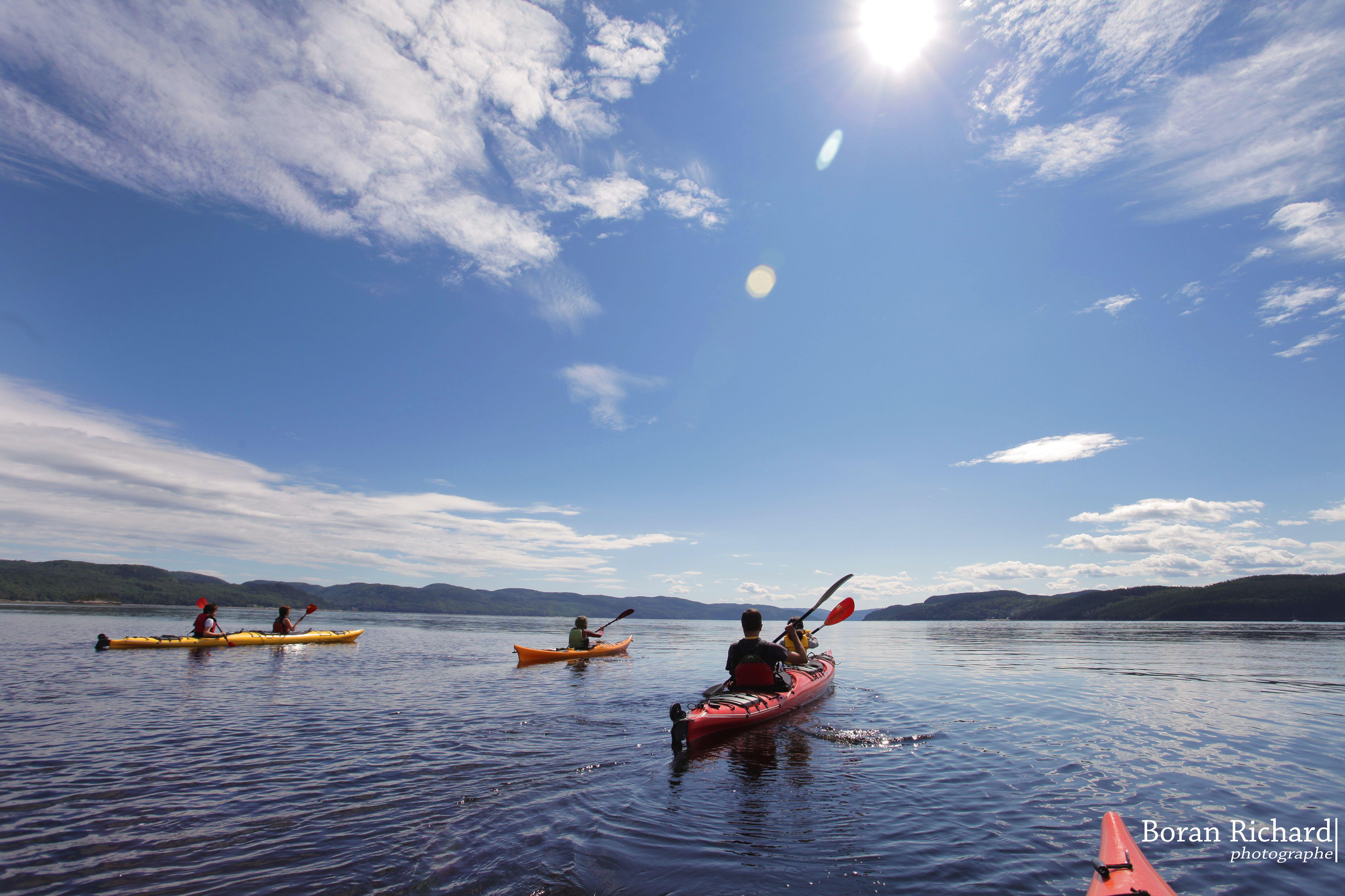 Promotion Saguenay - Kayak de mer sur le Saguenay