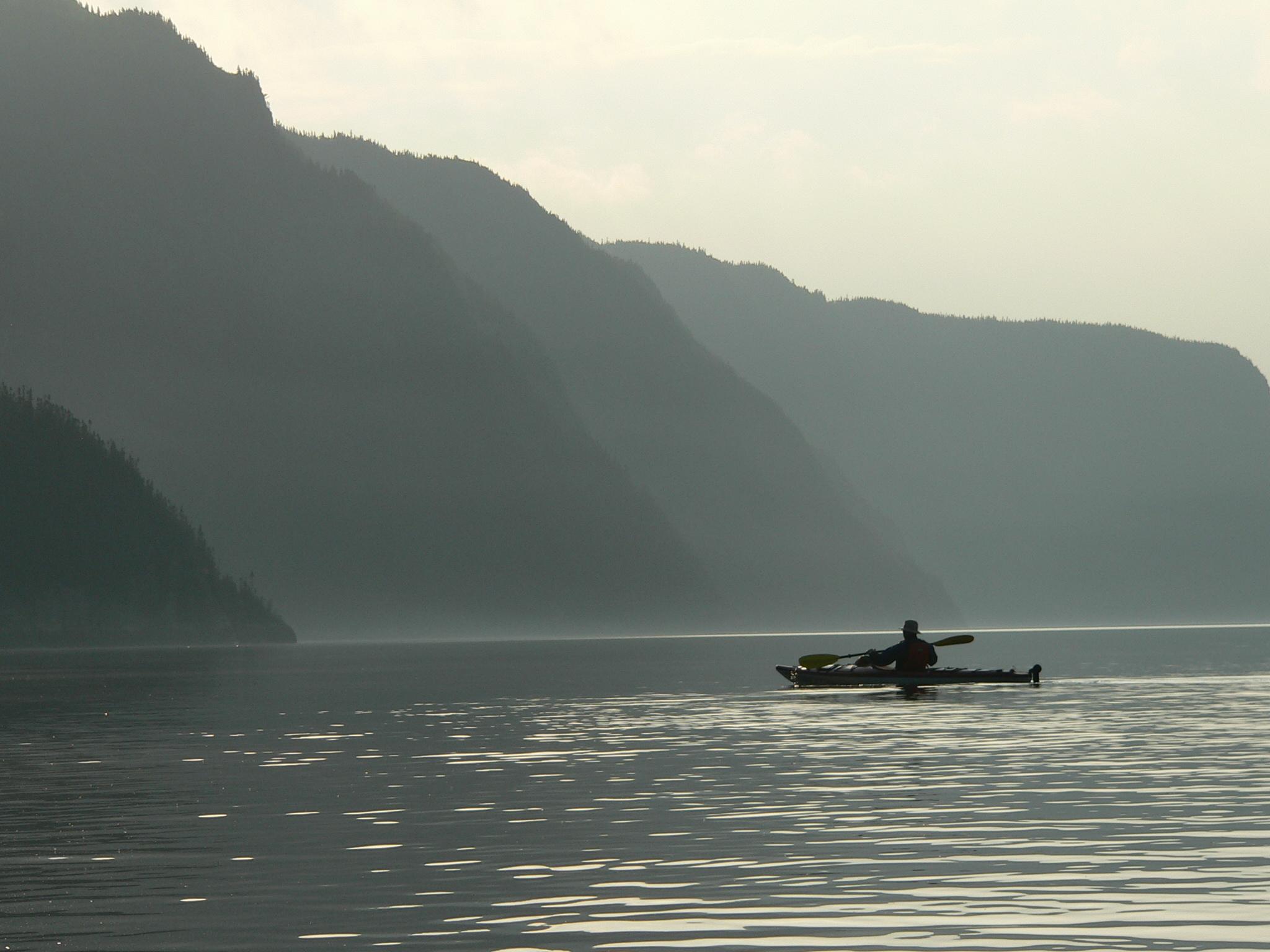 kayak brouillard fjord (c) Fjord en Kayak