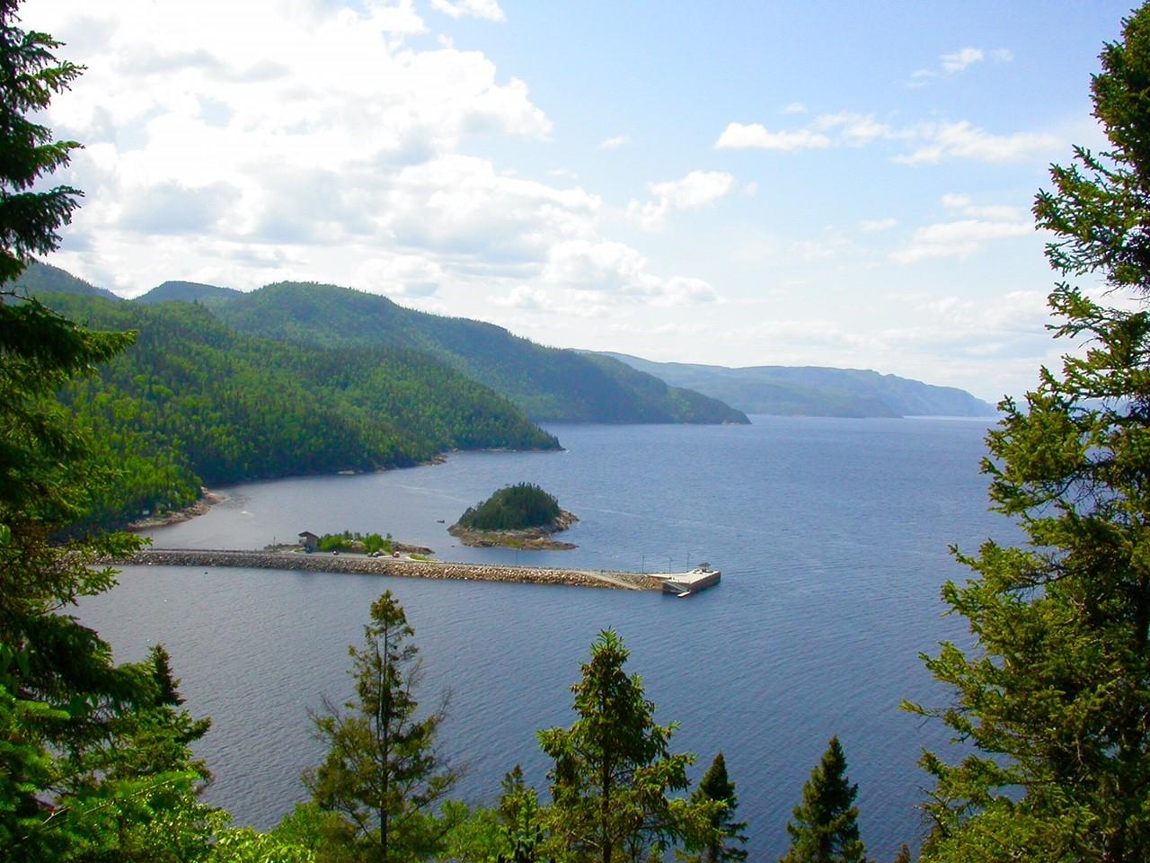 Quai Petit-Saguenay©Philippe Boivin
