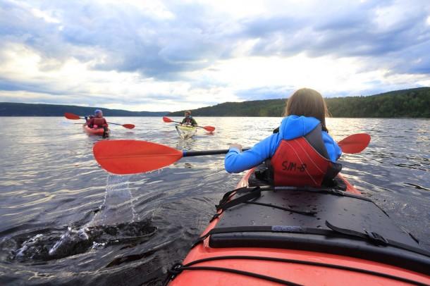 kayak de mer au cap jaseux