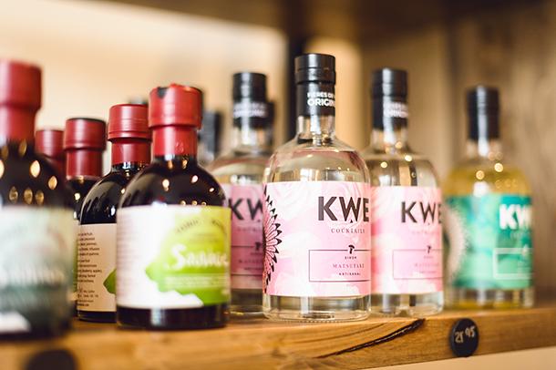 Sirop pour cocktail de KWE et Camerise Mistouk