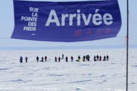 Le groupe arrive à destination après deux jours et demi d'aventure (Crédit photo: Fondation sur la Pointe des Pieds)