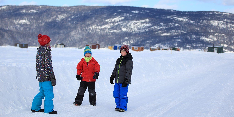 Groupes de jeunes - Village sur glace de La Baie