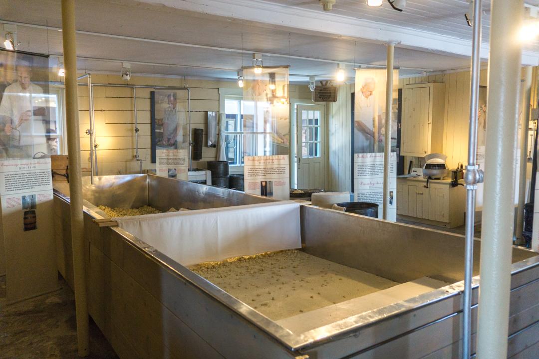 Musée du cheddar de Saint-Prime - Fromagerie Perron - © Jennifer Doré Dallas