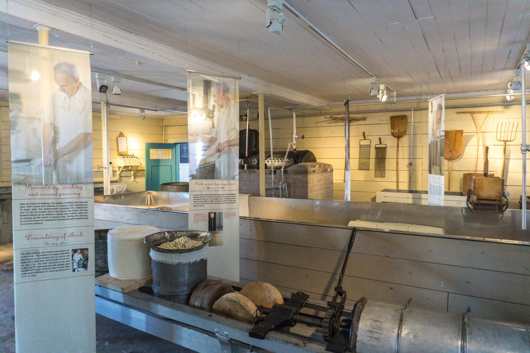 Musée du métier de fromager - Fromagerie Perron ©Jennifer Doré Dallas